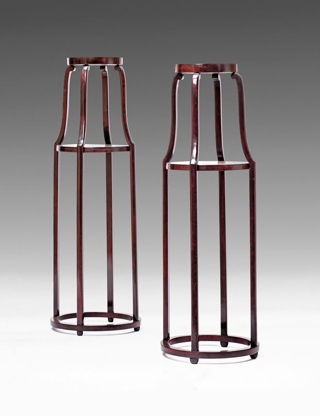 Josef  Hoffmann - A Pair of Flower Stands | MasterArt