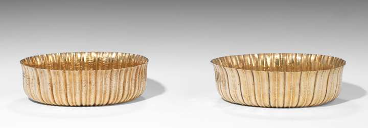 A Pair of Oval Bowls