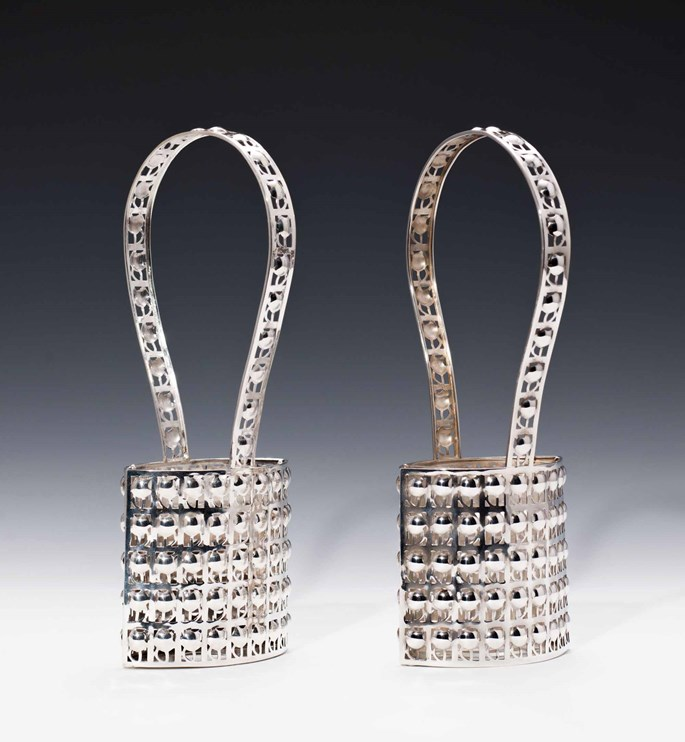 Josef  Hoffmann - A Pair of Silver Baskets | MasterArt
