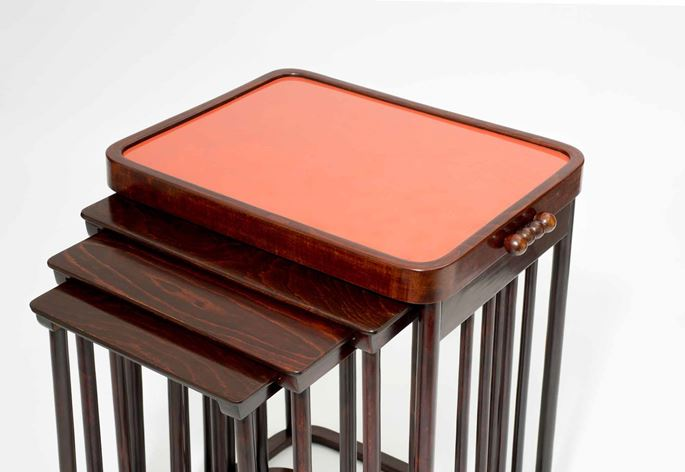 Josef Hoffmann / J. & J. Kohn - A set of Four Nesting Tables | MasterArt
