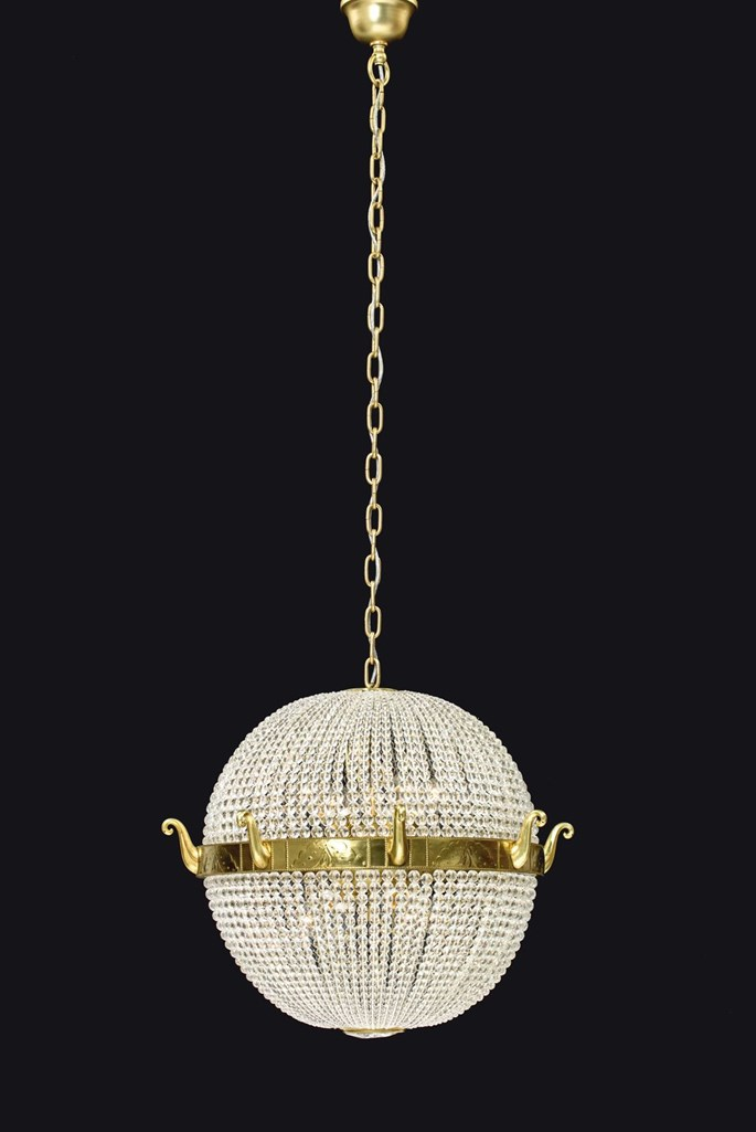 Josef  Hoffmann - DINING ROOM CHANDELIER FOR MORITZ GALLIA | MasterArt