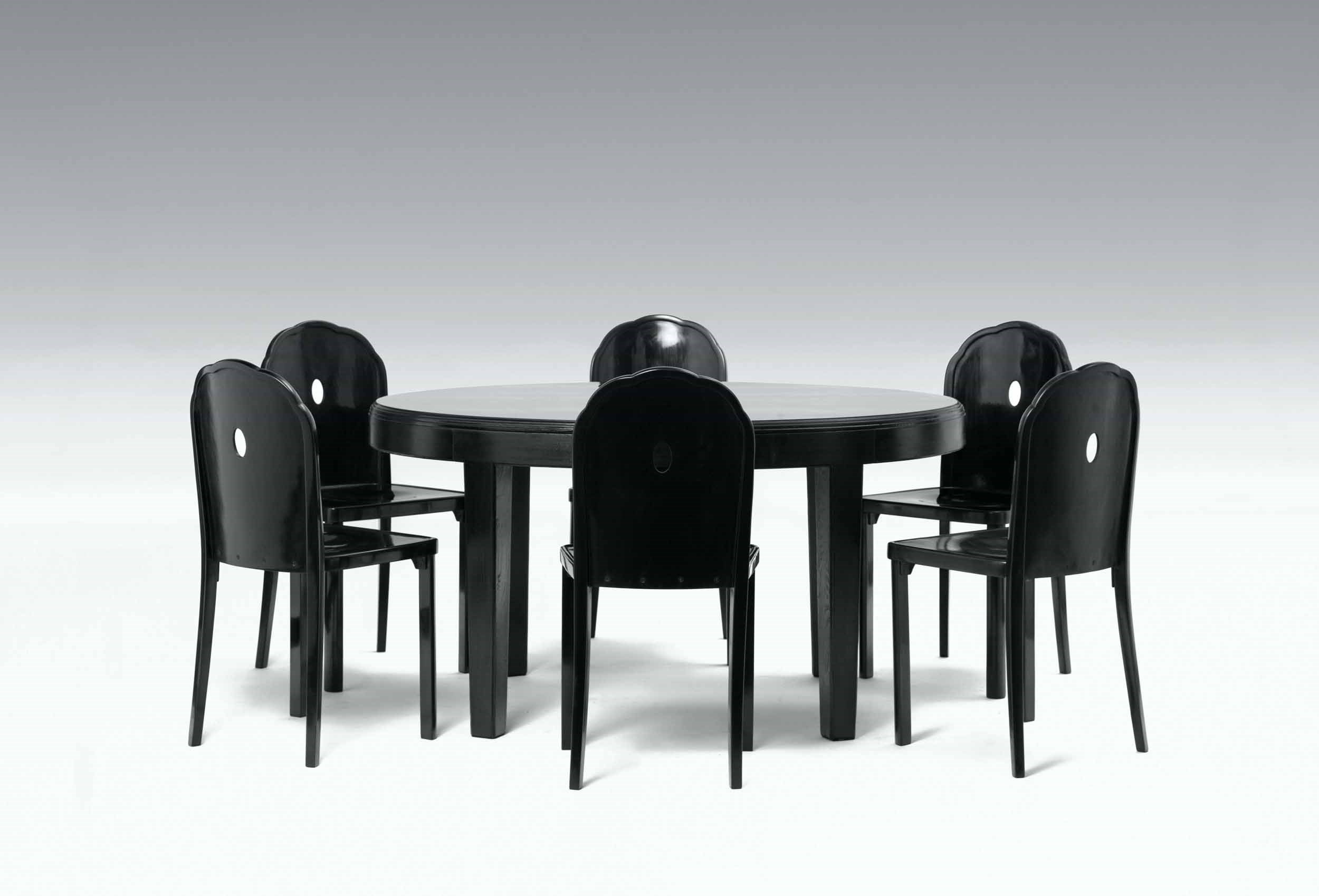Josef Hoffmann   Furniture For The Apartment Of Berta Zuckerkandl (small  Dining Room Table, 12 Chairs, ...