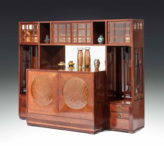 Josef  Hoffmann - LARGE SIDEBOARD for the Paris World Exhibition  | MasterArt