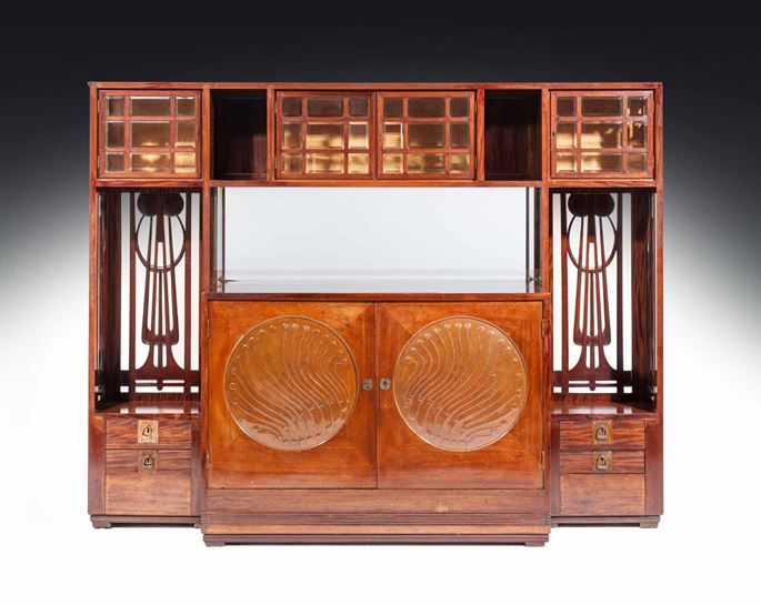 Josef Hoffmann / Anton Pospischil - Large Sideboard for the Paris World Exhibition  | MasterArt