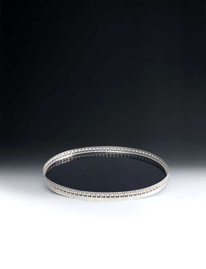 OVAL SILVER TRAY