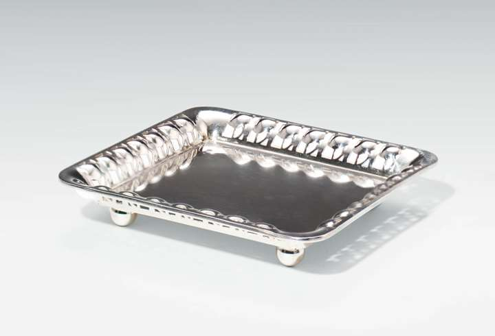 Silver Tray for Visiting Cards