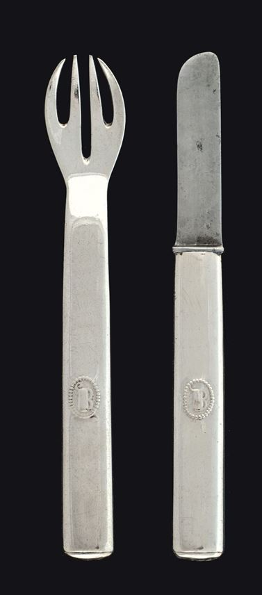 Josef  Hoffmann - TWO PIECES OF CUTLERY FOR CHILDREN | MasterArt
