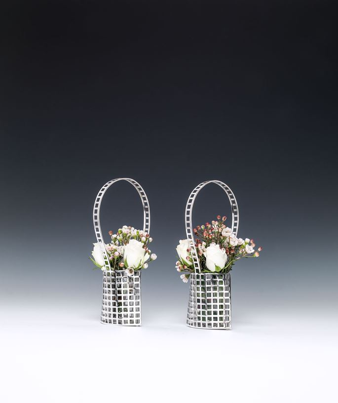 Josef  Hoffmann - TWO SILVER BASKETS | MasterArt