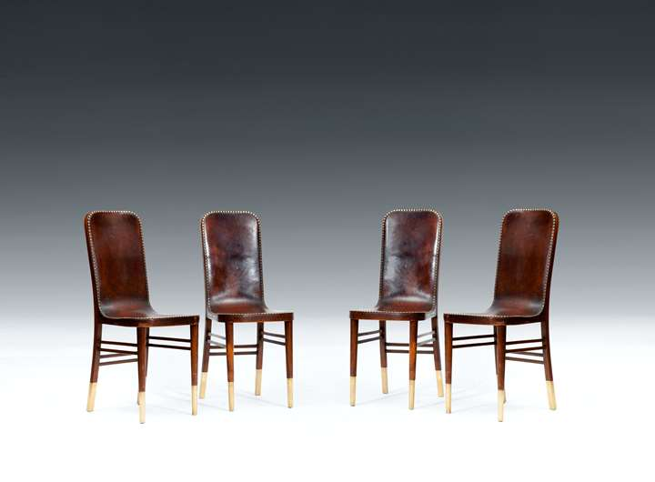 FOUR CHAIRS FOR THE PAUL HOFNER RESTAURANT