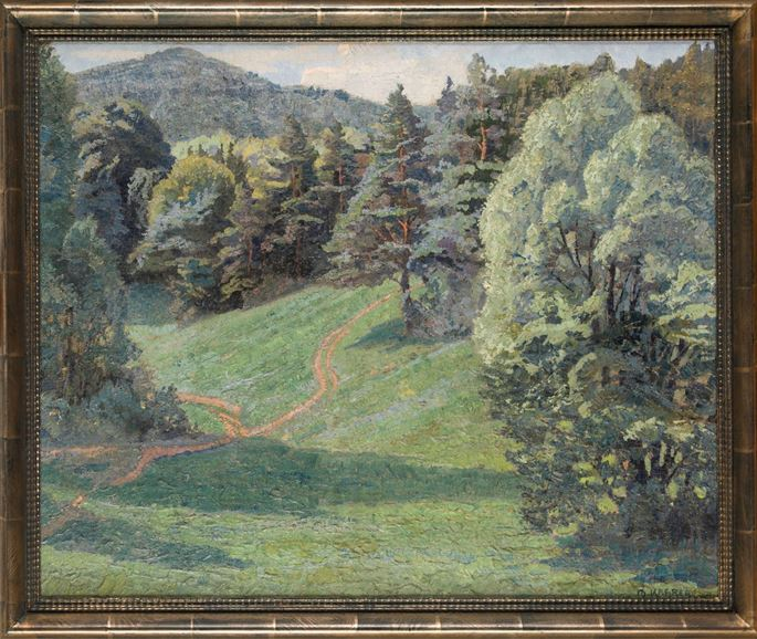 Max Kahrer - FOREST VIEW IN EARLY SUMMER | MasterArt