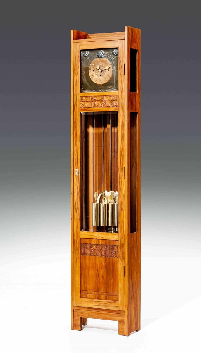 Michael Niedermoser - ART NOUVEAU LONG CASE CLOCK with dial from Georg Klimt  | MasterArt