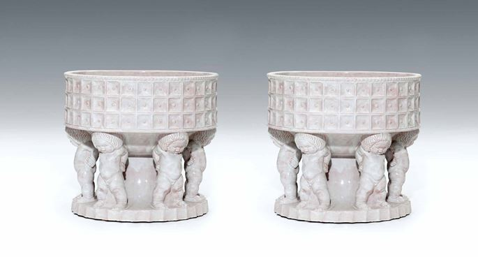Michael Powolny - A Pair of Extraordinary Cachpots | MasterArt