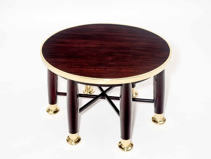 "Adolf Loos - OVAL ""HABERFELD"" TABLE  