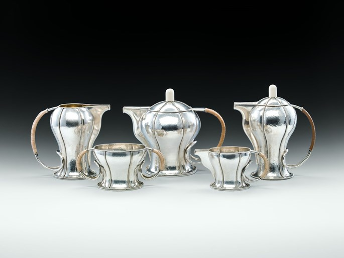 Otto Prutscher - FIVE-PIECE COFFEE AND TEA SET | MasterArt