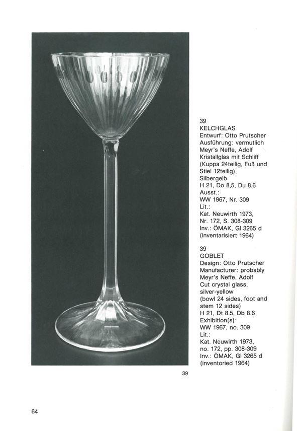 Otto Prutscher - WINEGLASS | MasterArt