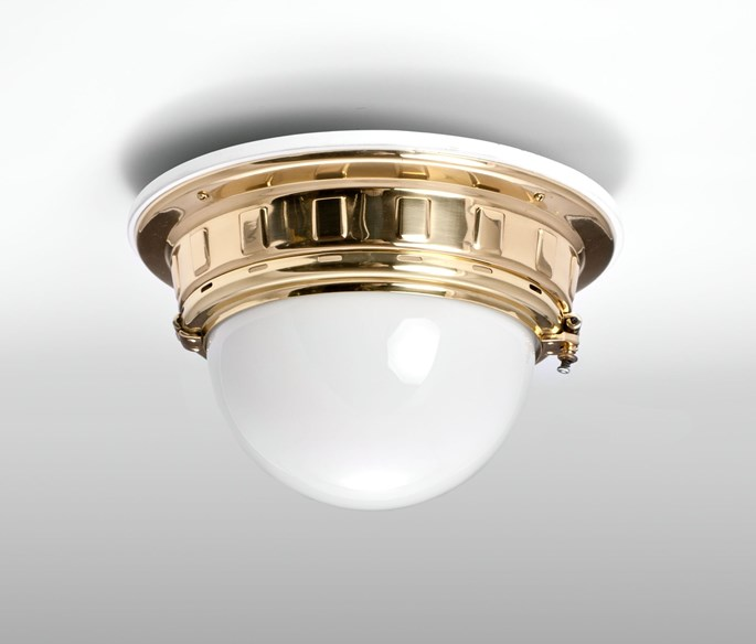 Otto Wagner - Ceiling Light for the Vienna Metropolitan Railways | MasterArt