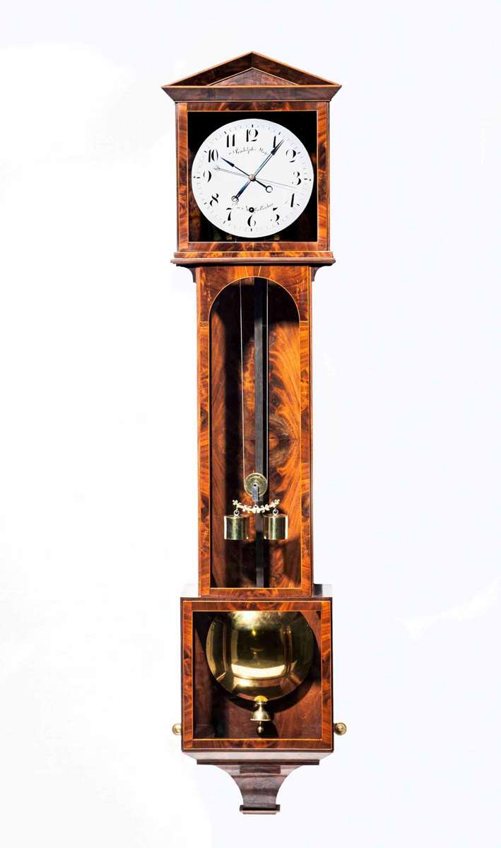 "EXQUISITE ""LATERNDL"" CLOCK"