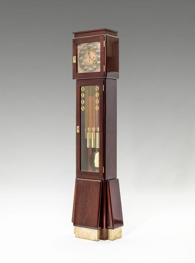 Richard Ludwig - ART NOUVEAU LONG CASE CLOCK | MasterArt