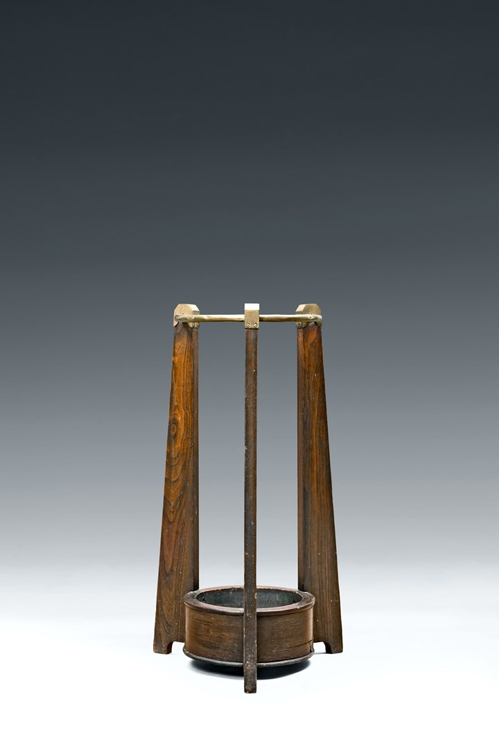 SECESSIONIST UMBRELLA AND WALKING STICK STAND