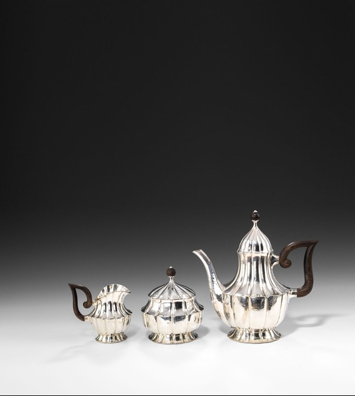 SILVER TEA SERVICE 