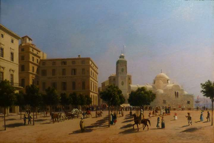"""THE PLACE DU GOUVERNEMENT IN ALGIERS"""