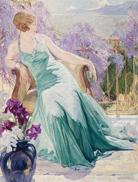 """BY THE WISTERIA"""