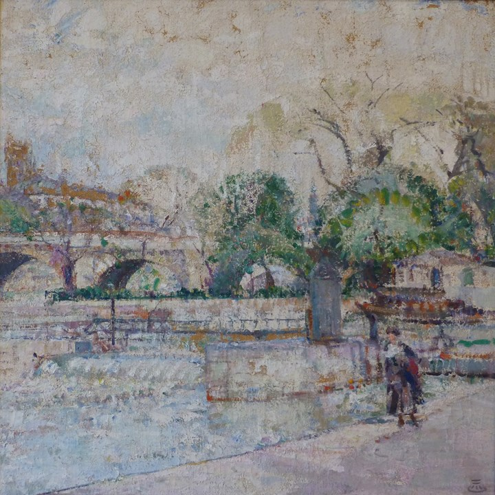 """THE PONT NEUF IN PARIS"""