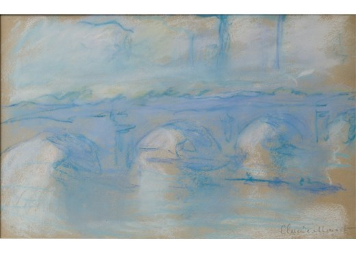 Monet pastel to be unveiled at 'From Constable to Cézanne   Inaugural Exhibition by Trinity House Paintings NY'