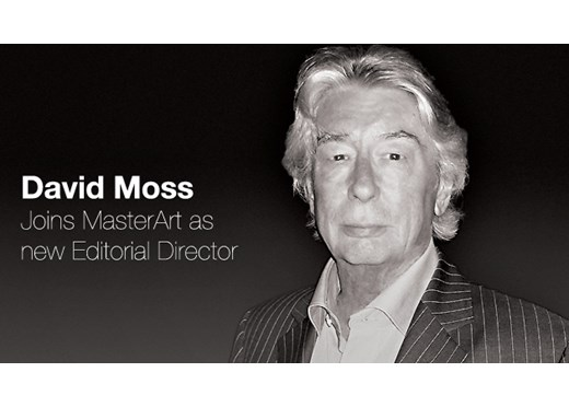 David Moss, MasterArt's new Editorial Director