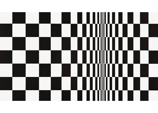 The Queen of Op Art set to dazzle at museum-class gallery shows