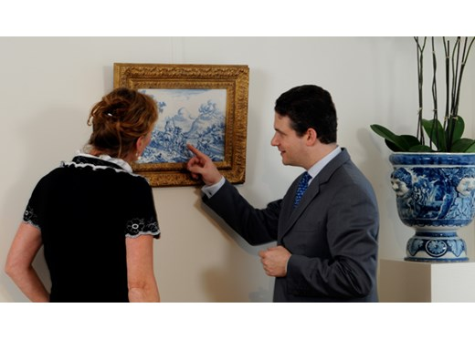 Robert Aronson mounts a show of the best in Dutch Delftware and remembers his father
