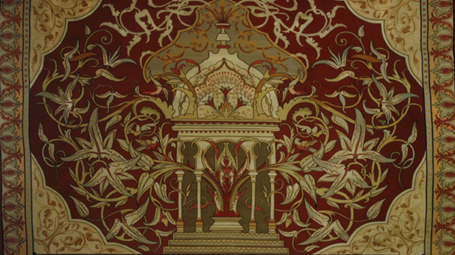 Historic carpet designed for Notre Dame takes the floor at Maastricht