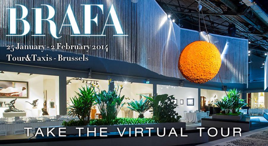 Take a virtual tour of BRAFA 2014