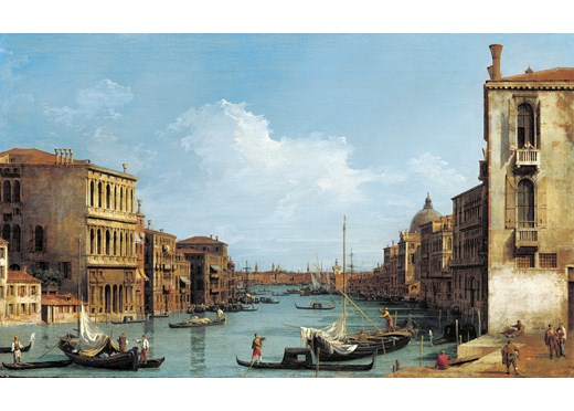 Queen's Gallery Celebrates Venetian View Paintings by Canaletto