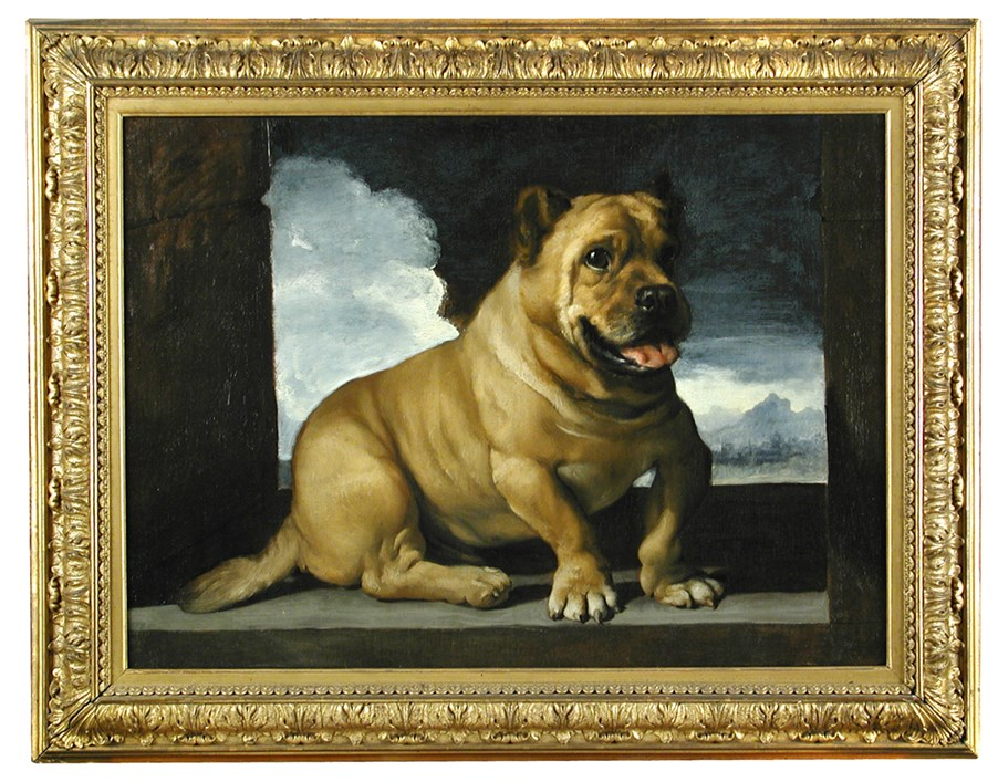 What is the Record Prize for a Dog Painting?