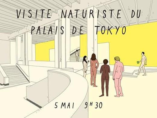 Palais de Tokyo Welcomes Nudists