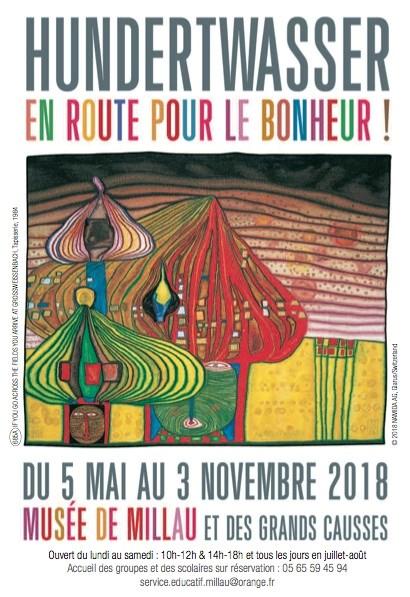 Exhibition Celebrates Friedensreich Hundertwasser at 90