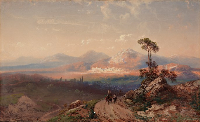 Carlo  Bossoli  - View of Cordoba in spain | MasterArt