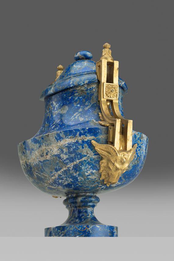 Manuel  Tolsá  - A Louis XVI Ormolu mounted Spanish colonial lapis vase | MasterArt