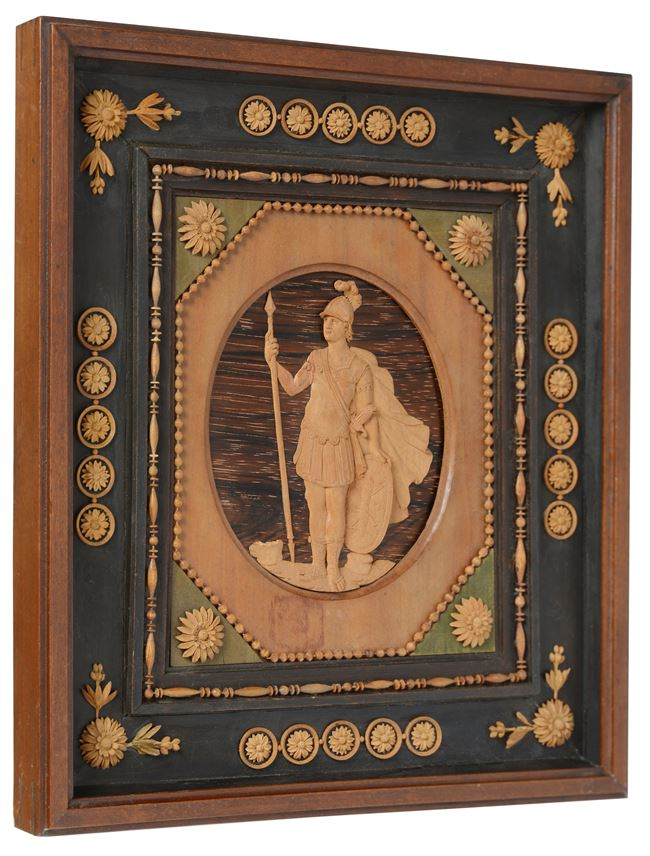 Giuseppe Maria Bonzanigo - A North Italian microcarving portrait relief miniature attributed to Giuseppe Maria Bonzanigo | MasterArt