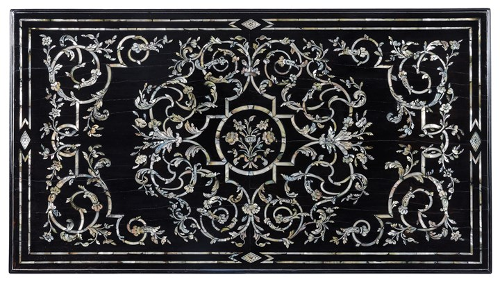 An important late baroque venetian table top