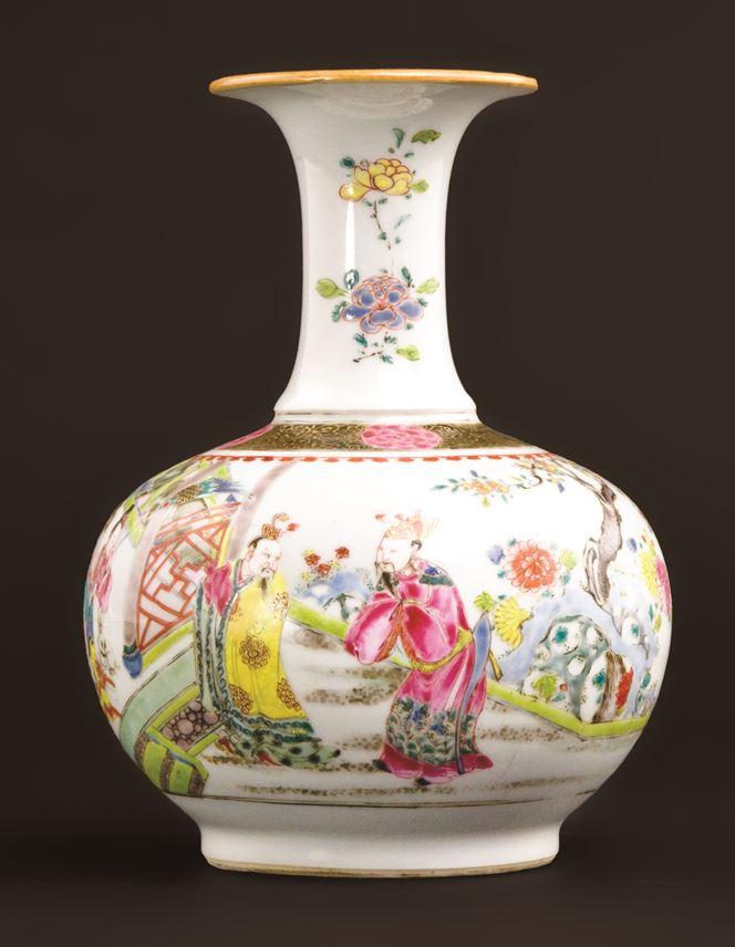 Chinese export porcelain famille rose kendi   MasterArt
