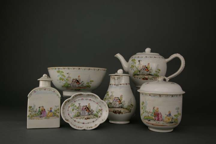 Chinese export porcelain TEASET