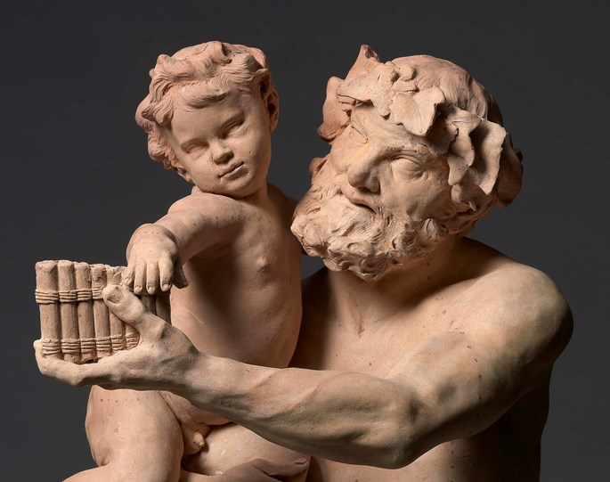 Christophe Veyrier - Silenus with the infant Bacchus ('Faune') | MasterArt