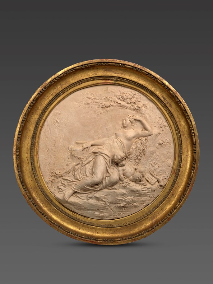 Joseph-Charles Marin - A Bacchante and a satyr | MasterArt