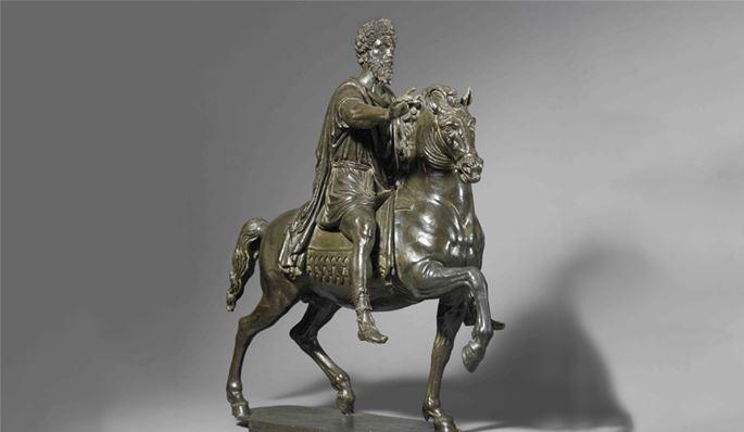 Active Piacenza and Rome - Equestrian group of Marcus Aurelius | MasterArt