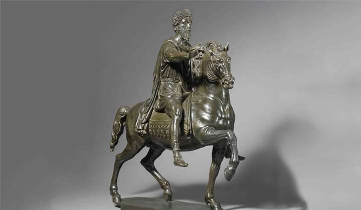 Active Piacenza and Rome - Equestrian group of Marcus Aurelius