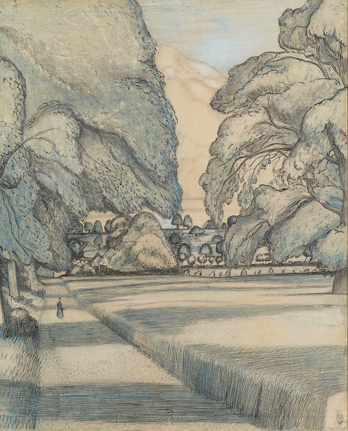 Paul Nash - The Peacock Path | MasterArt