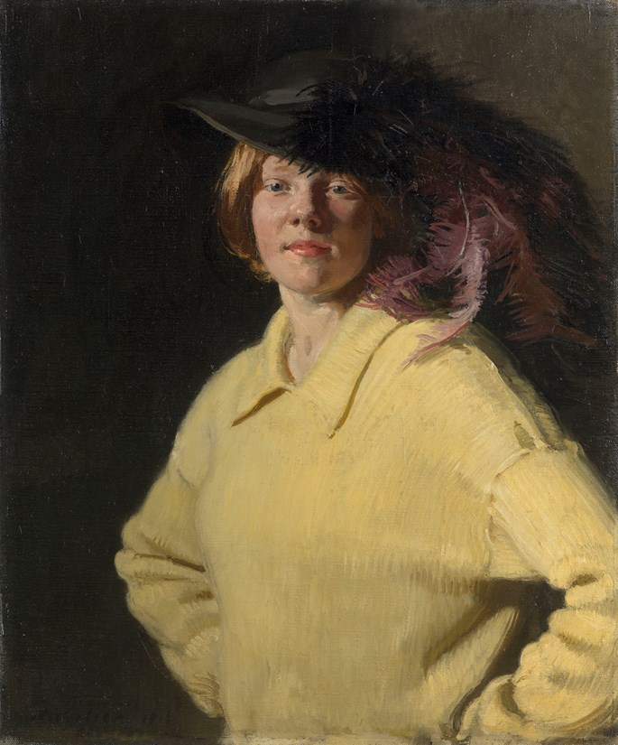 Sir William Nicholson - The Yellow Jersey | MasterArt