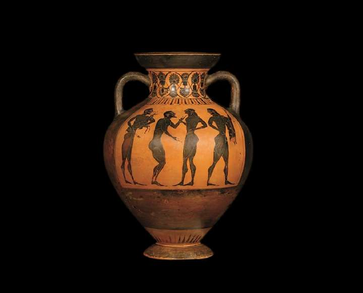 A  Black Figure Amphora